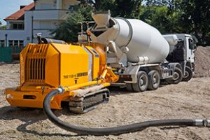 Concrete Pump Hire Shropshire